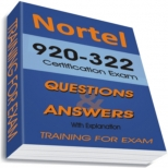 920-322 Training Exam