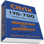 1Y0-700 Training Exam