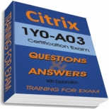 1Y0-A03 Training Exam