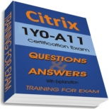 1Y0-A11 Training Exam